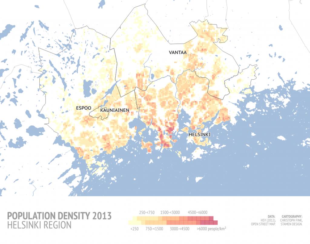 Helsinki Population Trends peippoat